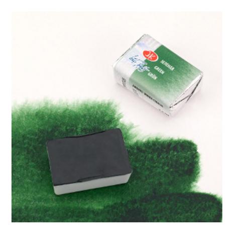 """Акварель """"Белые Ночи"""" зеленая 2,5мл № 725"""