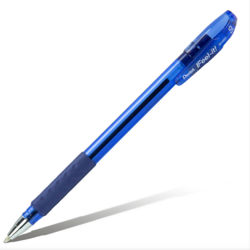 РУЧКА ШАРИКОВАЯ PENTEL IFEEL-IT! 0,5 ММ цвет синий