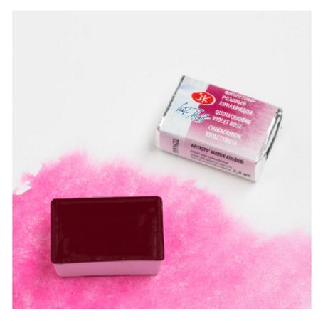 """Акварель """"Белые Ночи"""" фиолетово-розовый хинакридон 2,5мл № 622"""