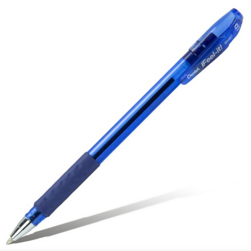 РУЧКА ШАРИКОВАЯ PENTEL IFEEL-IT! 0,7ММ цвет синий