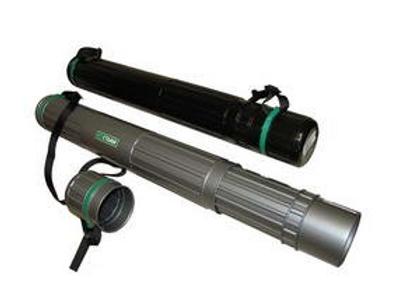 Тубус телескопический на ремне d=90мм L=700-1100мм, черный