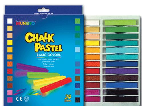 Mungyo Пастель сухая, меловая, профессиональная, 48 цвета, квадратная
