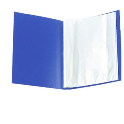 Папка с 30 файлами А4 Format , цвет ассорти