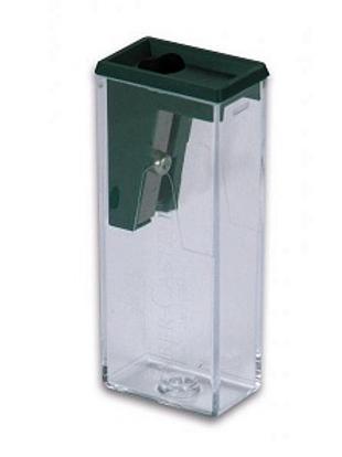 Точилка с контейнером прозрачная Faber-Castell