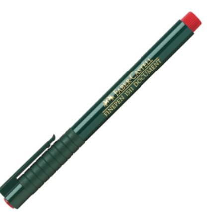 """Ручка капиллярная """"Finepen 1511"""" красный 0.4мм"""