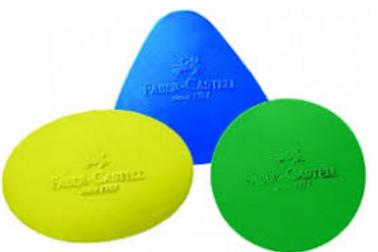 Ластик цветной фигурный Faber-Castell