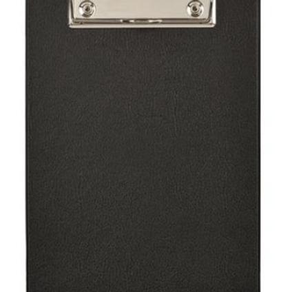 Папка-Клипборт  Attache 11cм  х 23см  картонная черная (1.75 мм)