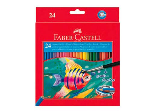 Карандаши цветные акварельные Faber-Castell Colour Pencils  24цв.