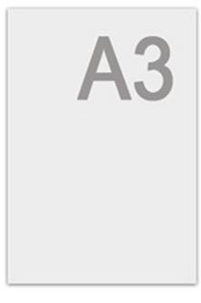Ватман формата А3 (297×420 мм), 200 г/м2, ГОЗНАК С-Пб., с водяным знаком
