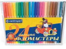 Фломастеры смываемые 24 цвета