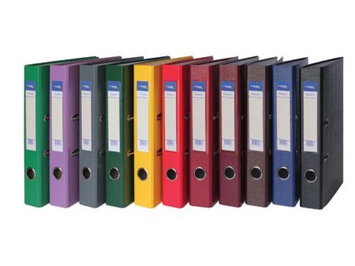Регистратор А4 75 мм PVC, Classic цвет в ассортименте»