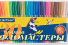 Фломастеры смываемые 30 цветов
