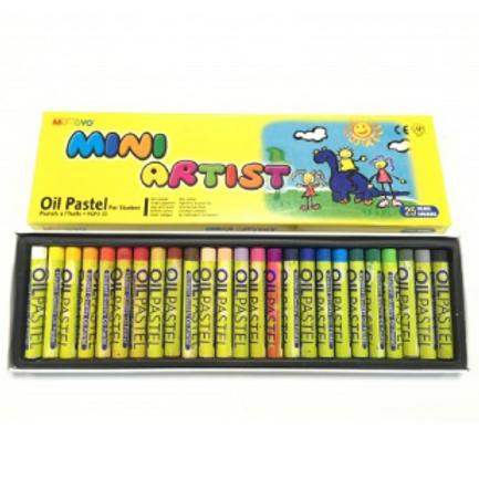Масляная пастель Mungyo Mini Artist 25 цветов