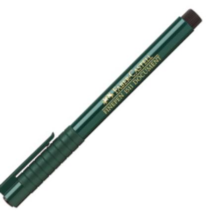 """Ручка капиллярная """"Finepen 1511"""" черный 0.4мм"""