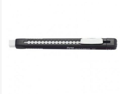 Ластик-карандаш с рельефным корпусом Pentel Clic Eraser