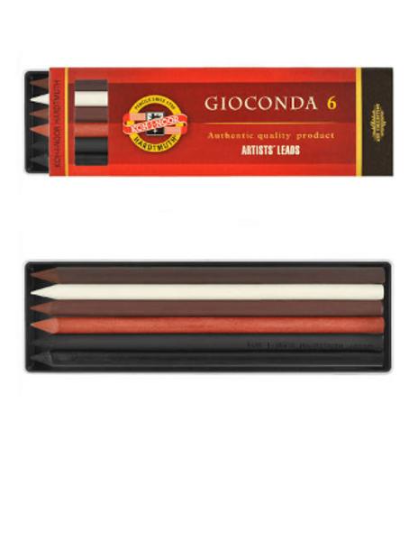 Грифели Koh-i-noor Gioconda 5.6 мм ,набор