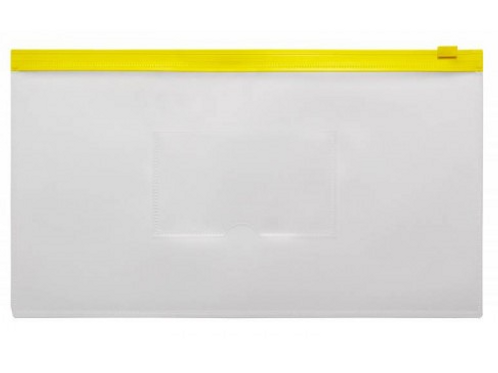Папка конверт на молнии  250*130мм 0,18мм