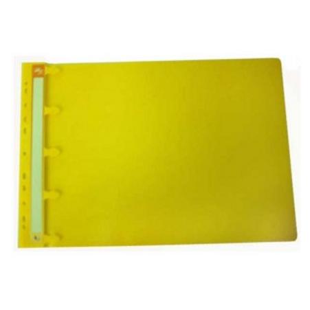 Папка скоросшиватель ф А3 прозрачный верх. с перфорацией