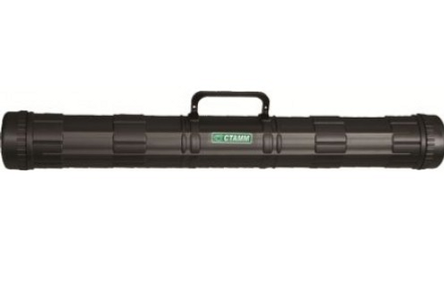Тубус с пластиковой ручкой D=90мм, L=700мм, чёрный