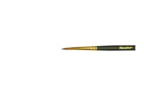 """Кисть имитация колонка круглая короткая ручка """"1S15"""" №2"""