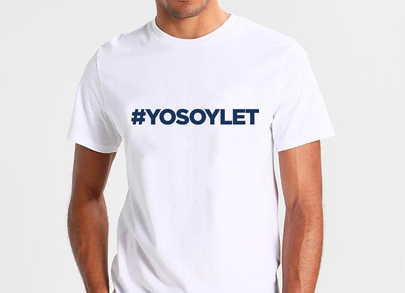 Camiseta #YOSOYLET
