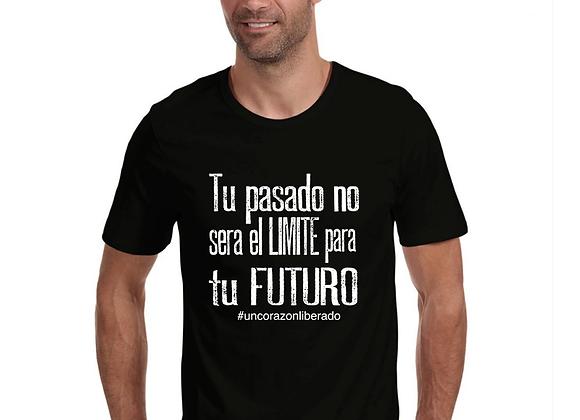 Camiseta Tu pasado no sera el limite para tu futuro