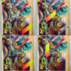 Bianca Romero quarantine moveable painting mask