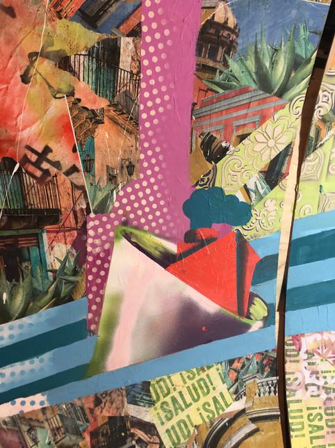 Bianca Romero Mural Hornitos Tequila