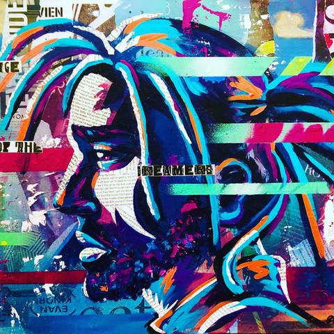 Bianca Romero Art - J Cole