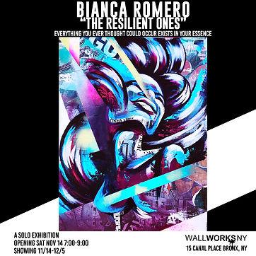 BIANCA ROMERO art gallery show