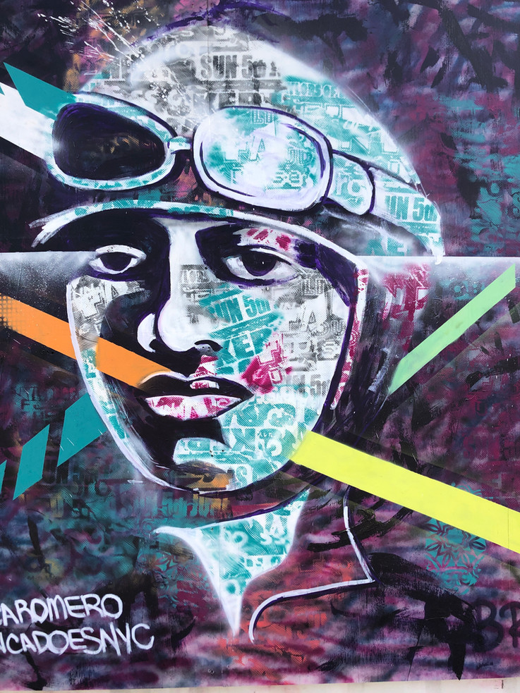Bianca Romero Mural Essex Modern City