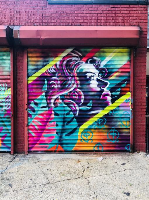 Bianca Romero Bed Stuy Brooklyn Mural