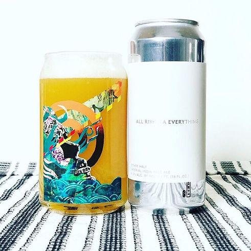 bianca romero custom beer glass