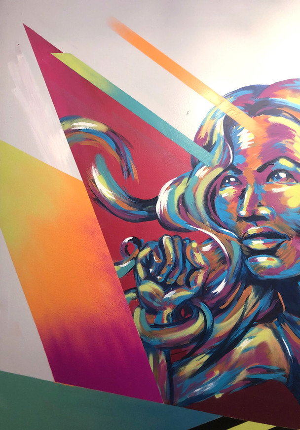 Bianca romero mural ludlow fitness