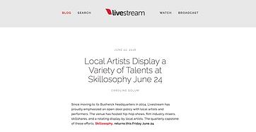 Bianca Romero artist and curator Livestream artist interview