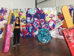 Bianca Romero mural food network