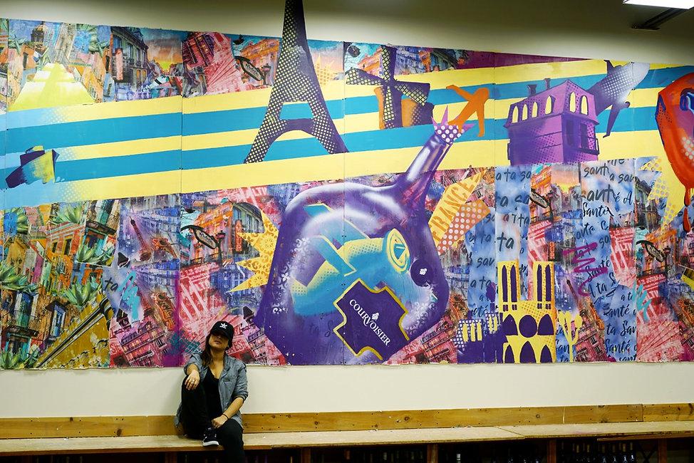 bianca romero art mural courvoisier