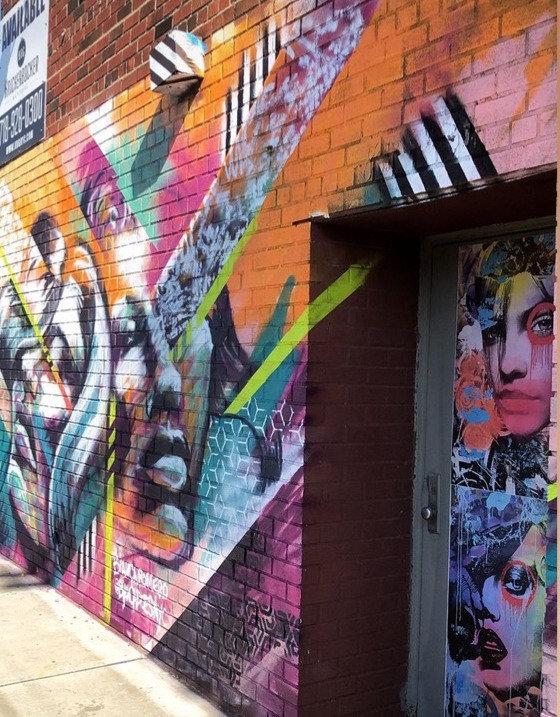 Bianca Romero Mural Lombary Walls