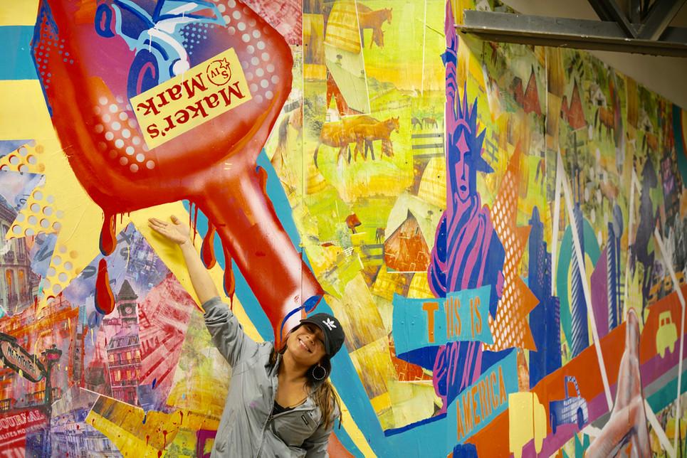 Bianca Romero Mural Makers Mark