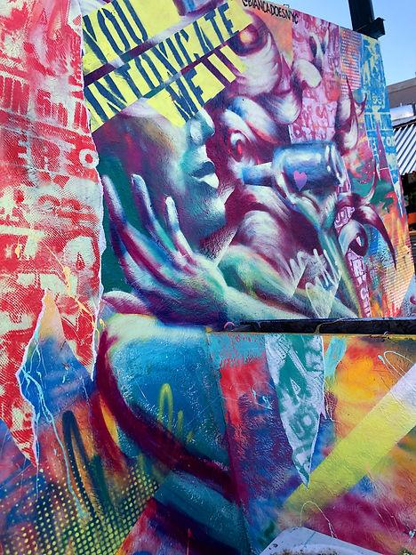Bianca Romero art Brooklyn Beer Garden