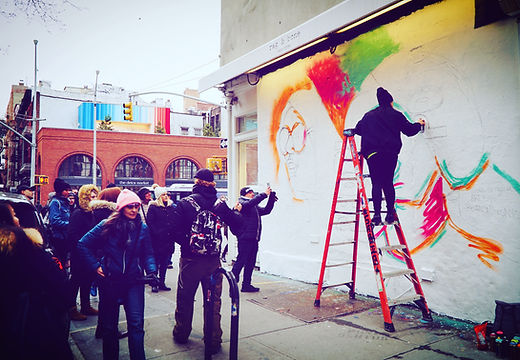 Bianca Romero mural artist