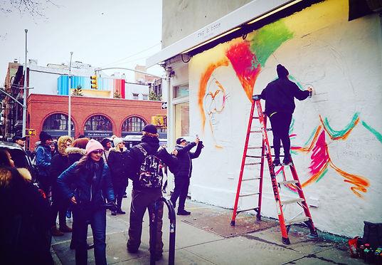 Bianca Romero art nyc mural artist