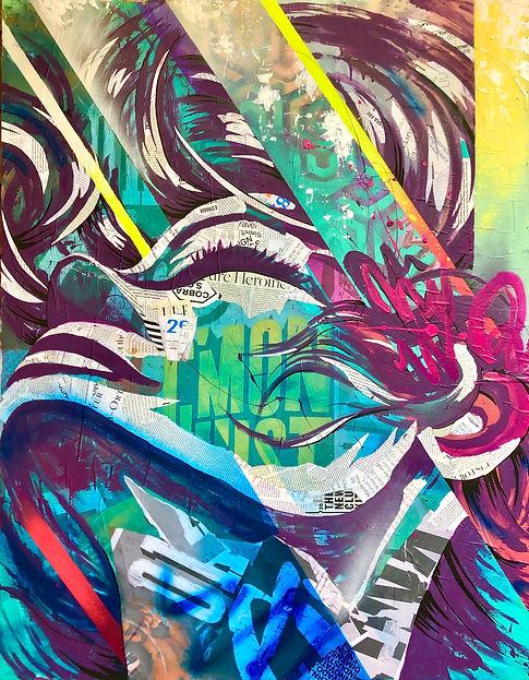 BIANCA ROMERO ART ARTIST - CONTEMPORARY FEMALE ARTIST NYC