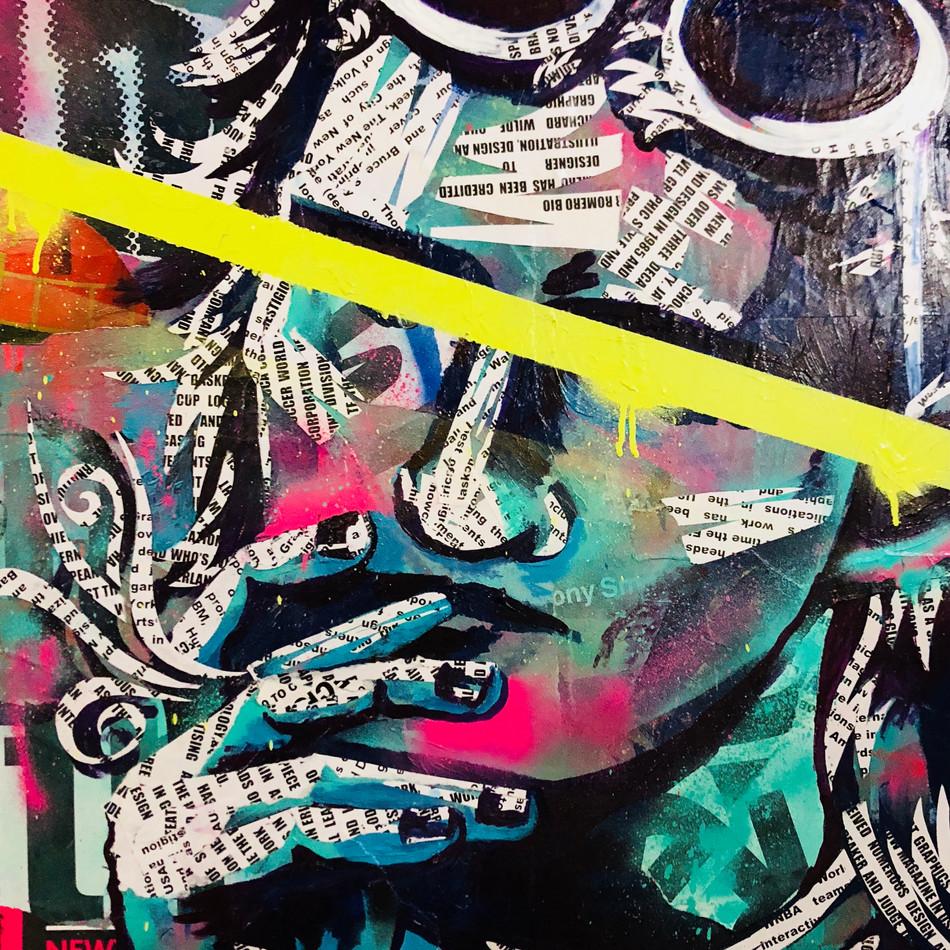 Bianca Romero Art - Kurt Cobain