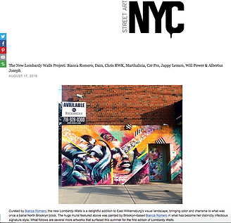 bianca romero interview street art nyc