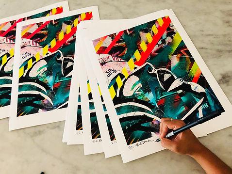 bianca romero art print