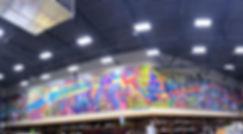 bianca romero art liquor brand mural