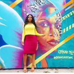 Bianca Romero Erykah Badu Mural