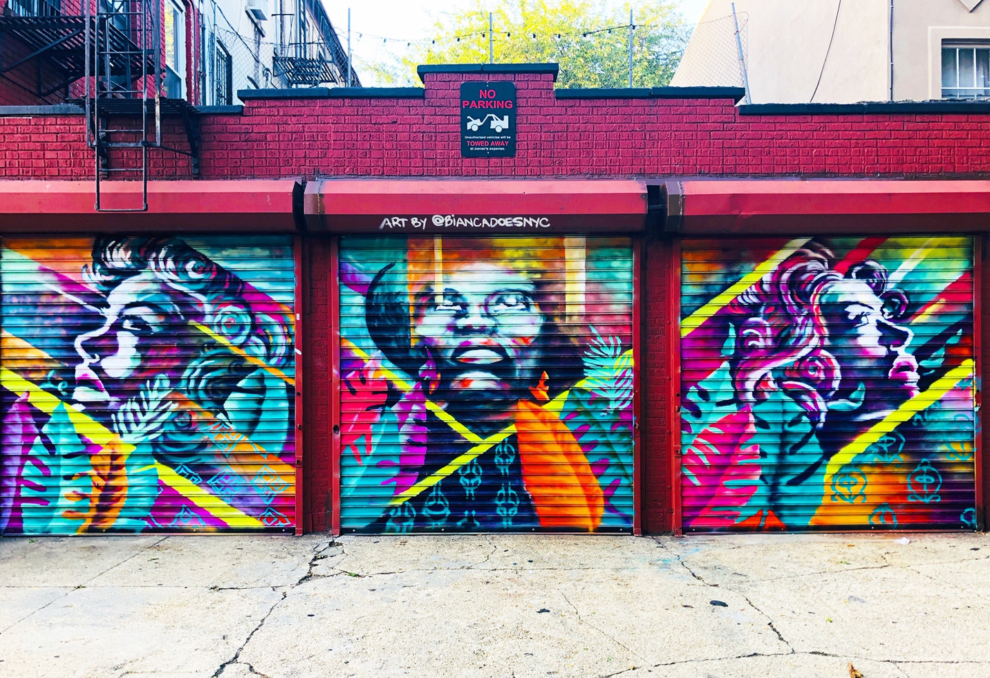 Bianca Romero Bed Stuy Brooklyn Mural