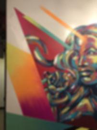 Bianca Romero Mural Ludow Fitness